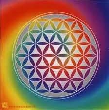 fleur de vie- eau diamant - 5eme dimension
