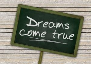 rêves, réalité, se réalisent