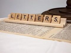 verbe créateur, lettres