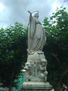 Statut de la vierge Marie