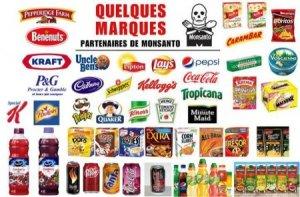 Monsanto OGM marques à boycotter boycott