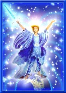 archange mickaël, rayon bleu