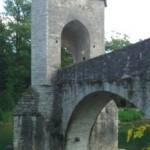 Le pont de la légende à Sauveterre-de-Béarn