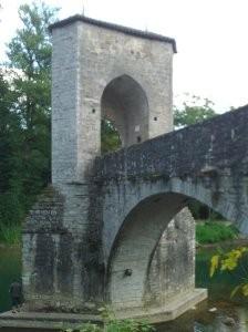 pont de la légende, sauveterre-de-béarn