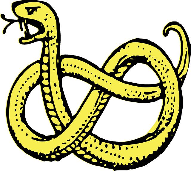 le serpent et les villageois