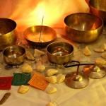 Bols tibétains pour les 7 chakras