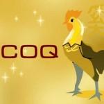 Le coq, signe chinois