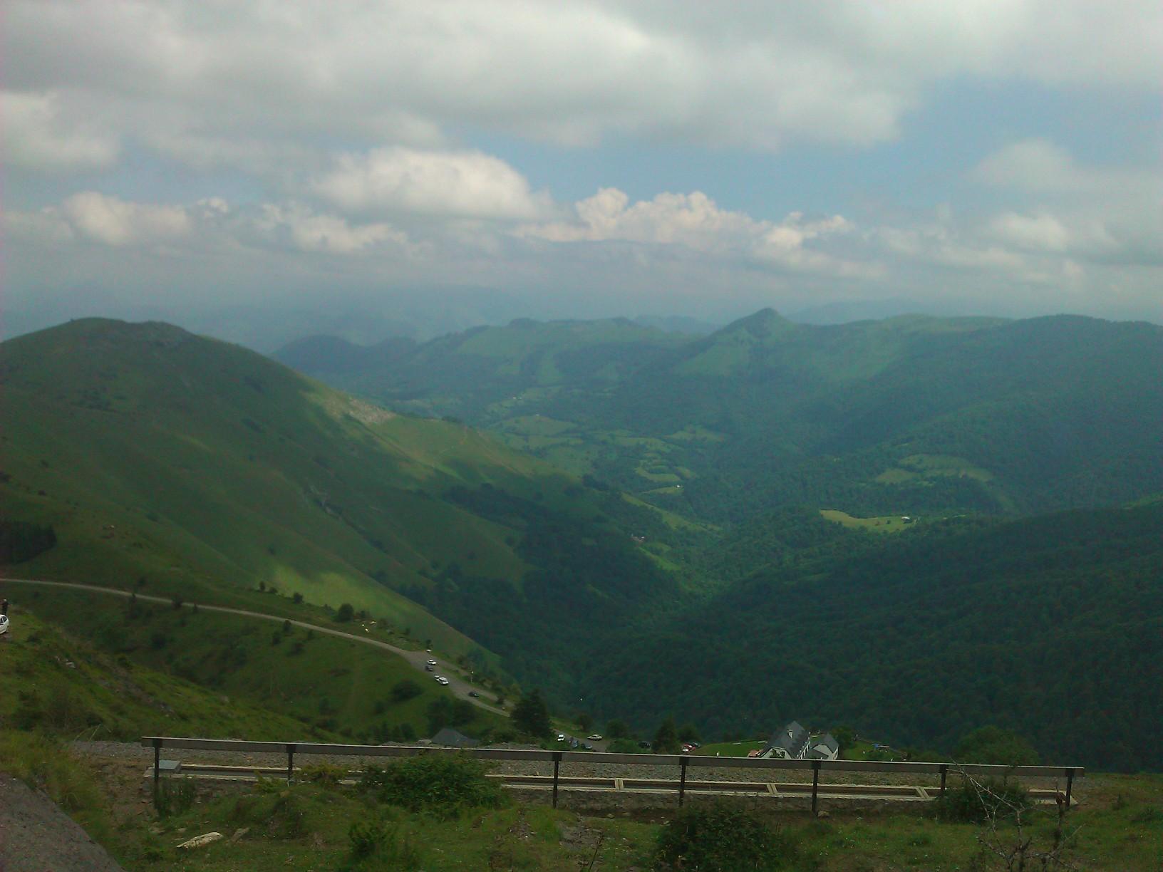 montagne, ahusquy