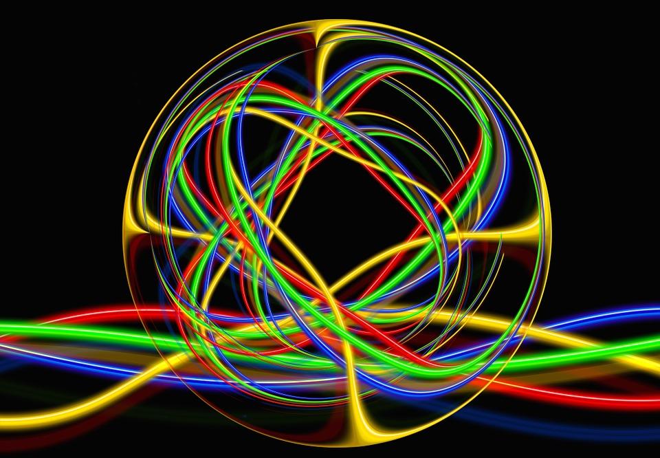 danse de lumière