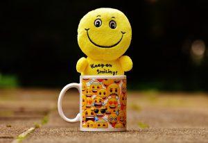 joie, sourire