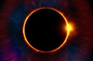 éclipse, éclipse annulaire, solstice, nouvelle lune, énergies