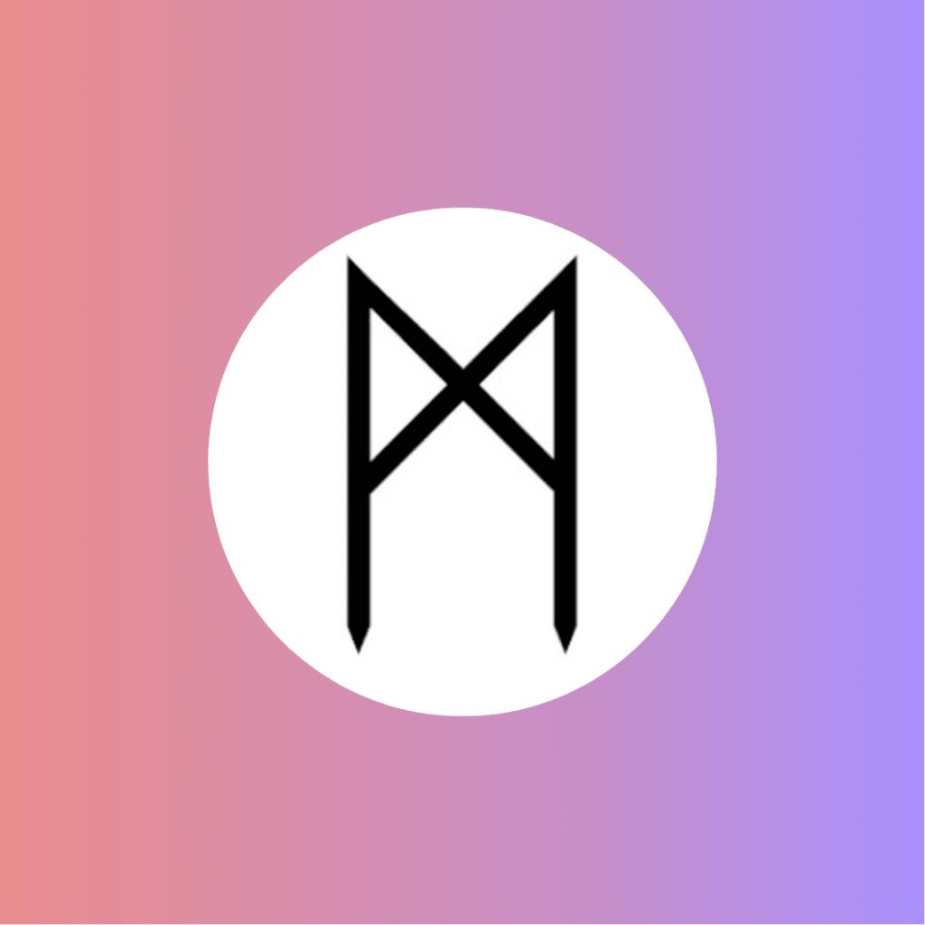 mannaz, unité, collectif, cycle, histoire, ancêtre, chakra oméga