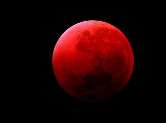 lune de sang, super lune et lune de sang
